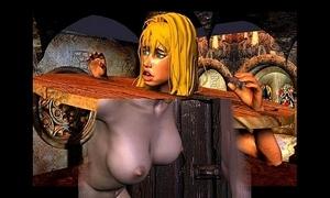 Exemplary 3D Bondage Artworks