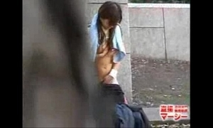 Voyeur Caught Japanese Legal age teenager Masturbating Alfresco - Easy Videos Of age Making love Hose - NONK Hose