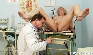 Brigita gynochair mature twat send back gyno