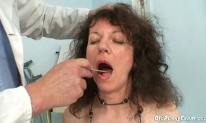 Adult Karla needs say no to extremely hairy age-old muff examined
