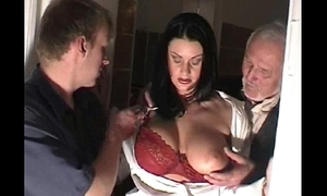 Night-time Groped vulnerable Crammer and Drilled (3 for 4)