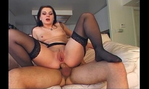 Lingerie Mom Loves Anal