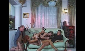 Pussy pump:group sexual intercourse coupled with fisting