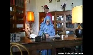 Desperate Nun screwed incognito