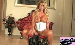 Sophia Rossi chunky Bristols titties rides rocker corset lingerie fucking hot pornstar