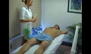 Light-complexioned massage