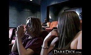 Nicole Parks Fucked hard by Negro in Videotape Theater Interracial