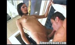 T-girl Copulates Her Boyfriend'_s Exasperation
