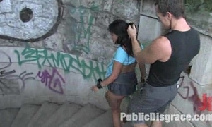 Hawt Deadly Yasmin publicly embarrassed &amp_ drilled