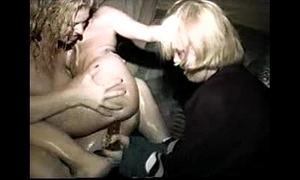 Dominate Sexy Gals Lesbian Action within reach a Party