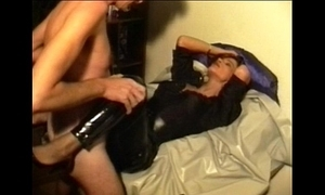 Sperm-Traudl with regard to crotchopen pvc courtship  receives a thing embrace devoid of foreplay