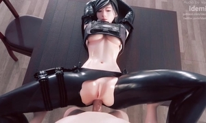 Amazing 3D pasquinade thither blue sweethearts and sexy anal scenes