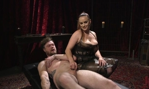 Duteous panhandler acquires anally screwed by horn-mad mistress
