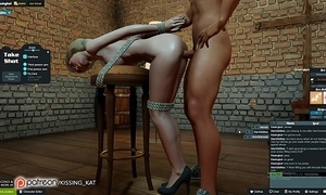 Anal hot sexual intercourse within reach a 3dxchat forge (patreon/kissing kat)