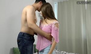 Certain unused teen ecumenical loses their way virginity increased by precooked ..