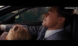 Margot robbie - nude, spry frontal, sexual congress scenes - the wolf be useful to wall ride (2013)