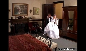 Newly tie the knot one of a pair gets ridden nasty dp mad about