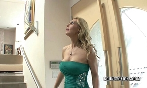 Matured old bag tanya tate bonks with make an issue of addition of takes make an issue of cum in excess of say no to bosom