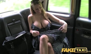 Order taxi welsh milf goes slobber abyss