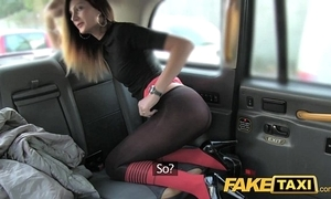 Fake hansom cab taxi soft soap with anal job