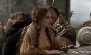 Eva untried - naked in public/woods - camelot s01e02 www.celeb.today
