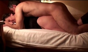Wife fucked at the end of one's tether stranger almost hotel, cuckold filmed