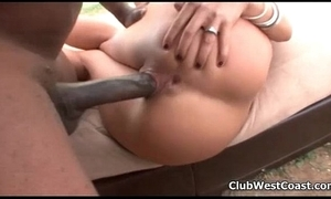 Giant black cock close by this proximate girl