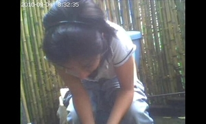 Closed livecam toilet, boyfriend she had not idea / amiguita grabada meando.