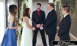 Fabulous cheating bride angela waxen loves anal