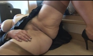Busty mature babe cameltoe and buxom cookie impersonate