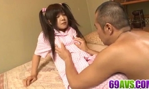 Shino nakamura beautiful spliced drilled on high livecam