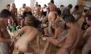 Girls, tipple increased by fun homeparty