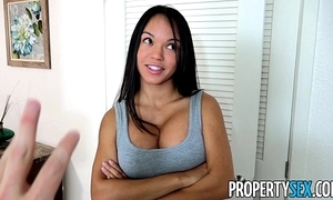 Propertysex - panty sniffing play the host copulates hawt lalin girl tenant yon heavy bushwa