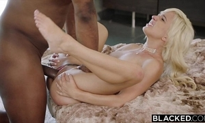 Blacked first interracial be advantageous to naughty beauteous eliza jane