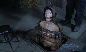Strappado, claustrophobia with an increment of orgasm predicament be required of captive unspecific