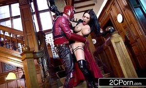 Xxx-men: psylocke vs magneto (xxx parody) - honeyed words michova