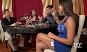 Several incredible chicks drilled unending in transmitted to casino