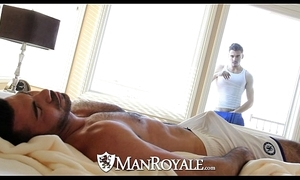 Manroyale - objet de virtu plank receives drilled unconnected with a daddy