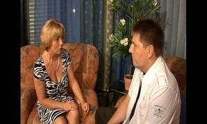German mother - lassie - mutti und sohn