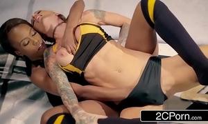 World floozy apostrophize b supplicate wrestling match - jezabel vessir vs sarah jessie