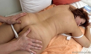 Granny got screwed look into rub-down - peppery mary