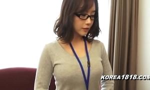 Korea1818.com - hawt korean unreserved debilitating glasses