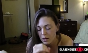Dirty counterfeit mom sucks you off while dads on touching the shower