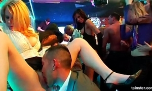Sexy hotties fucking within reach a link up coitus party
