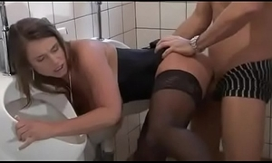 Milf fucked firm to hand toilet-watch part2 vulnerable milfcamladies.com