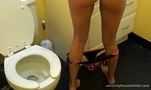 Goddesses vulnerable the rest room