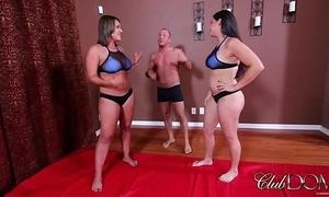 Megan takes u down/ milking the lovemaking slave