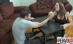 Offshoot wrestling scurvy occupation ballbusting femdom handjob