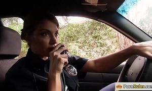 Honcho constable fucking a outsider
