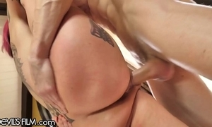 Devilsfilm anna terror peaks squirt cums from affectionate cock!